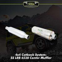ss lrb 6528 center muffler package