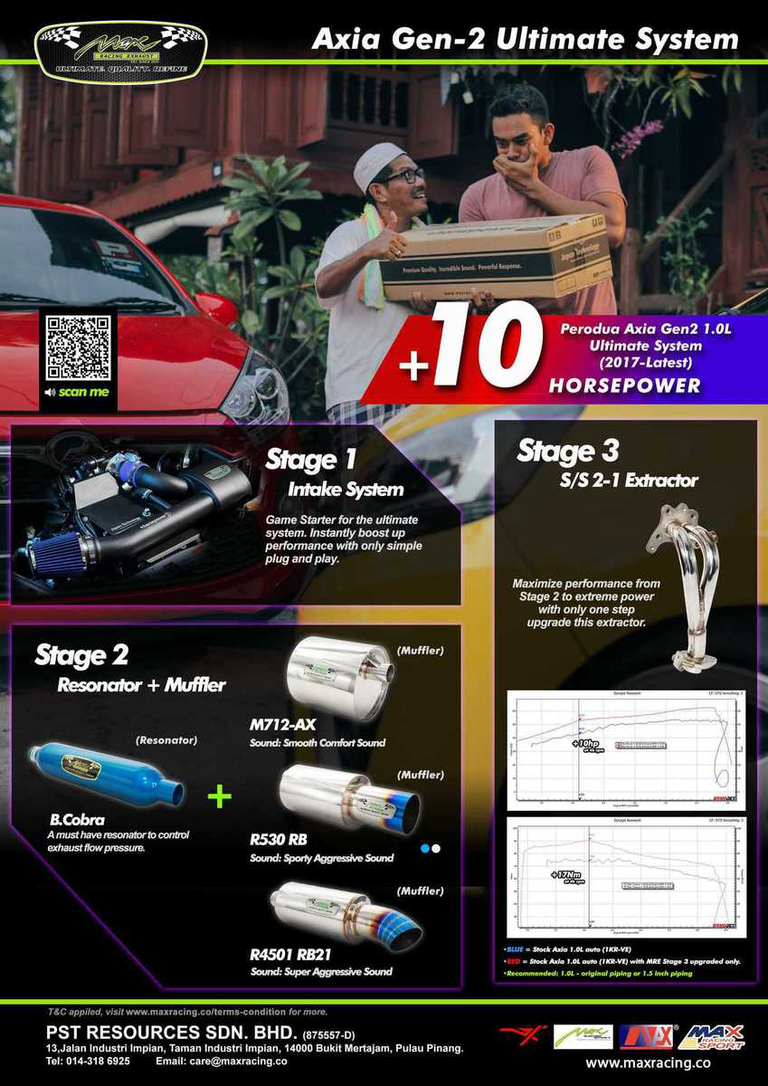 AXIA GEN 2 ULTIMATE SYSTEM 10hp brochure