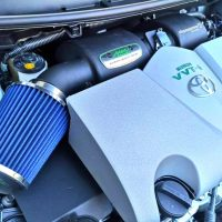 max racing vios intake system with engine cover cold air intake