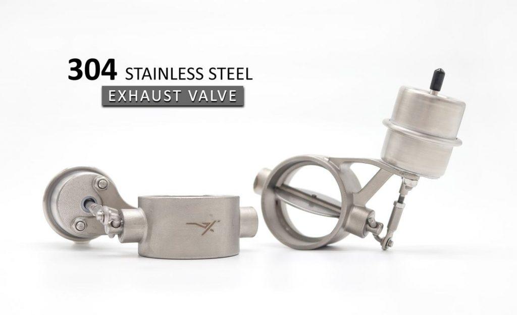 exhaust valve slider