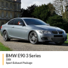 BMW E90 E91 E92 330i Sport Exhaust Package