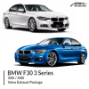 BMW F30 335I / 340I Valve Exhaust Package