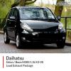 Daihatsu Sirion / Daihatsu Boon M300 1.3L K3-VE Loud Exhaust Package