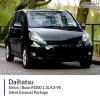 Daihatsu Sirion / Daihatsu Boon M300 1.3L K3-VE Silent Exhaust Package