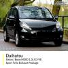 Daihatsu Sirion / Daihatsu Boon M300 1.3L K3-VE Sport Twin Exhaust Package