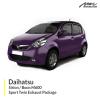 Daihatsu Sirion / Daihatsu Boon M600 1.3L& 1.5L Sport Twin Exhaust Package