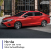 Honda City GN 1.0L Turbo Silent Exhaust Package