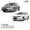 Honda Civic FD FB 1.8L & 2.0L Loud Exhaust Package