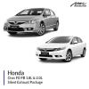 Honda Civic FD FB 1.8L & 2.0L Silent Exhaust Package