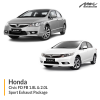 Honda Civic FD FB 1.8L & 2.0L Sport Exhaust Package