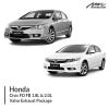 Honda Civic FD FB 1.8L & 2.0L Valve Exhaust Package