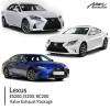 Lexus IS200T, RC200T Valve Exhaust Package