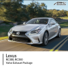 Lexus RC300 RC350 Valve Exhaust Package