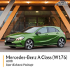 Mercedes W176 A200 Sport Exhaust Package