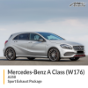 Mercedes W176 A250 Sport Exhaust Package