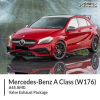 Mercedes W176 A45 AMG Valve Exhaust Package