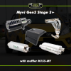 Myvi Gen 3 Stage 3 Plus Twin Exhaust Upgrade Package