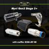 Myvi Gen 3 Stage 3 Plus Sport Single Exhaust Upgrade Package