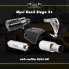 Myvi Gen 3 Stage 3 Plus Loud Single Exhaust Upgrade Package