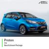 Proton Iriz Bass Exhaust Package
