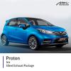 Proton Iriz Silent Exhaust Package