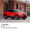 Proton X50 Twin Valve Exhaust Package