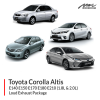 Toyota Altis 1.8L & 2.0L Loud Exhaust Package