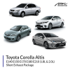 Toyota Altis 1.8L & 2.0L Silent Exhaust Package