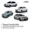 Toyota Altis 1.8L & 2.0L Sport Exhaust Package