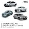 Toyota Altis 1.8L & 2.0L Valve Exhaust Package