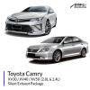 Toyota Camry Single Silent Exhaust Package