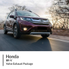Honda BR-V Valve Exhaust Package