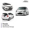 Honda Jazz GD & GE Silent Exhaust Package