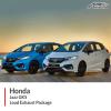 Honda Jazz GK5 Loud Exhaust Package