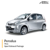 Perodua Viva Sport Exhaust Package