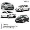 Toyota Vios & Yaris NCP93 , NCP150 Silent Exhaust Package
