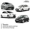 Toyota Vios & Yaris NCP93 , NCP150 Valve Exhaust Package