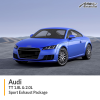 Audi TT 1.8L & 2.0L Sport Exhaust Package