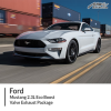 Ford Mustang 2.3L Eco Boost Valve Exhaust Package