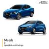 Mazda 2 Sport Exhaust Package