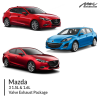 Mazda 3 1.5L & 1.6L Valve Exhaust Package