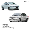 Honda City GD & GE Silent Exhaust Package