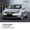VW Golf 1.4L MK6 Sport Exhaust Package