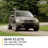 BMW E70 X5 4.8i / xDrive48i / xDrive50i Sport Exhaust Package