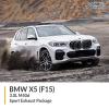 BMW F15 X5 3.0L M50d Sport Exhaust Package