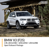 BMW F25 X3 2.0L sDrive18d / xDrive20d / xDrive28d Sport Exhaust Package