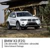 BMW F25 X3 2.0L sDrive18d / xDrive20d / xDrive28d Valve Exhaust Package