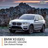 BMW G01 X3 2.0L xDrive20i / xDrive20d Sport Exhaust Package