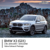 BMW G01 X3 2.0L xDrive20i / xDrive20d Valve Exhaust Package