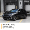 BMW G01 X3 3.0L M40i / M40d Sport Exhaust Package